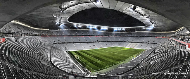The Extraordinary Allianz Arena In Munich