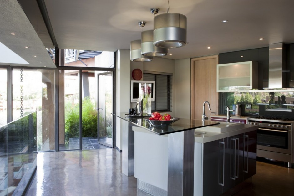 South african villa by nico van der meulen for Kitchen designs south africa