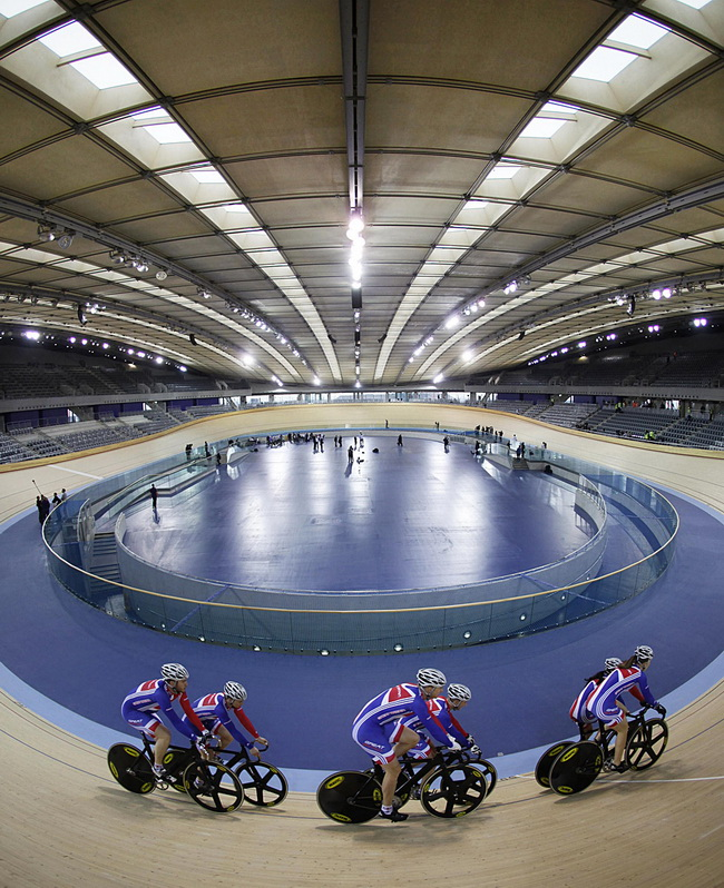 London Velodrome For The 2012 Olympic Games