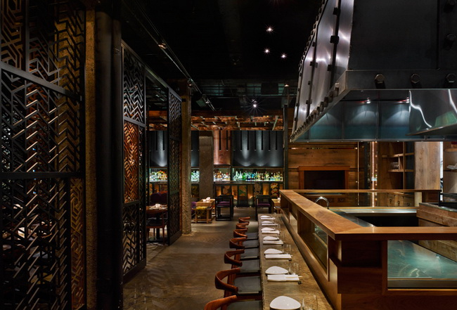 The ame restaurant in toronto canada