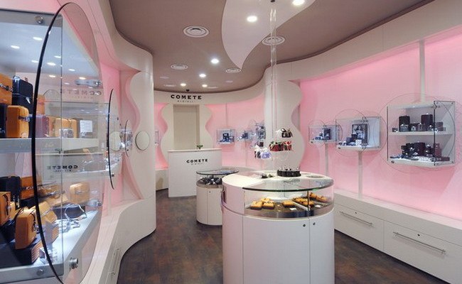 Comete Jewelry Store in Milan 1