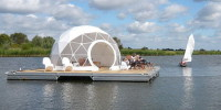 Floating Dome Home 1