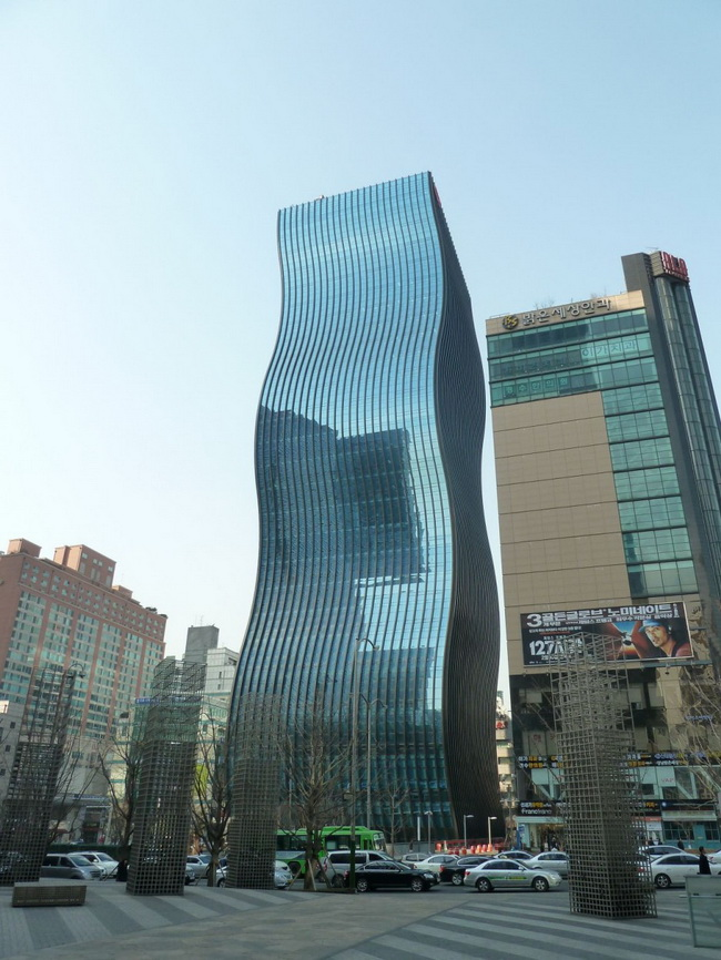 The gt tower east in seoul south korea for Architecture firms in netherlands