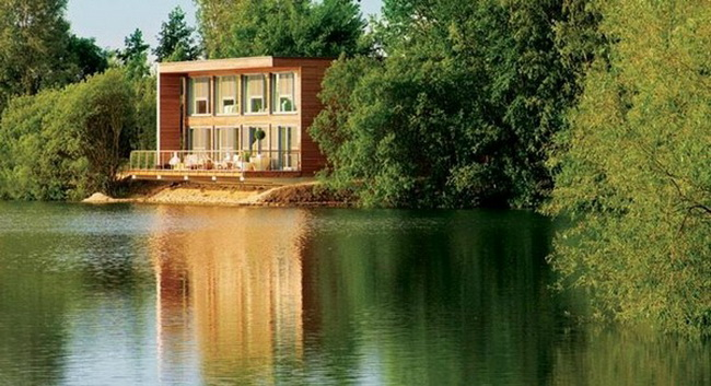 Lovely Lake House In The South West Of England