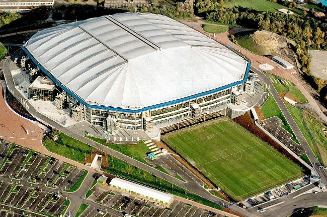 Shalke 04's wonderful Stadium: Veltins-Arena