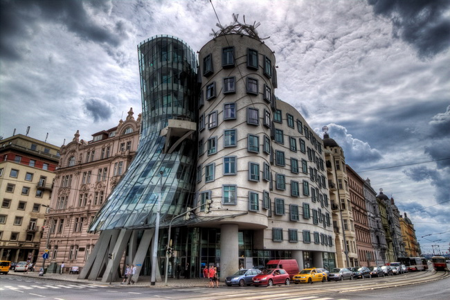 The Dancing House or Ginger & Fred in Prague