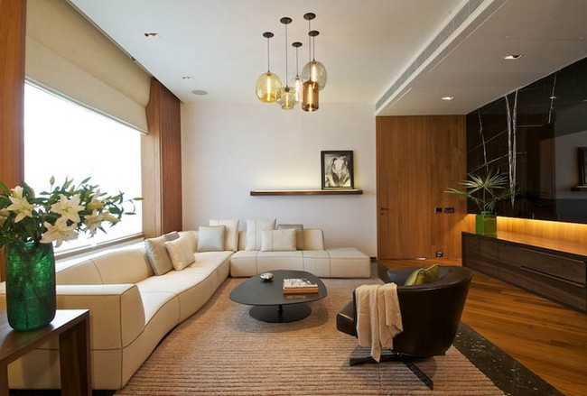 Elegant Home Interior In New Delhi India