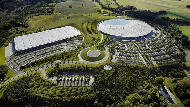 McLaren Production Centre 1