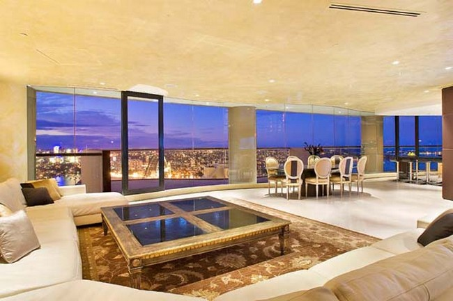 Amazing penthouse in sydney by harry seidler for Pool showrooms sydney