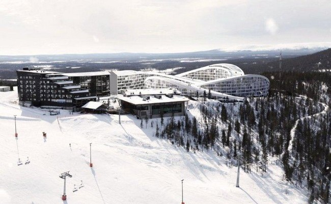 BIG Ski Resort in Lapland 1