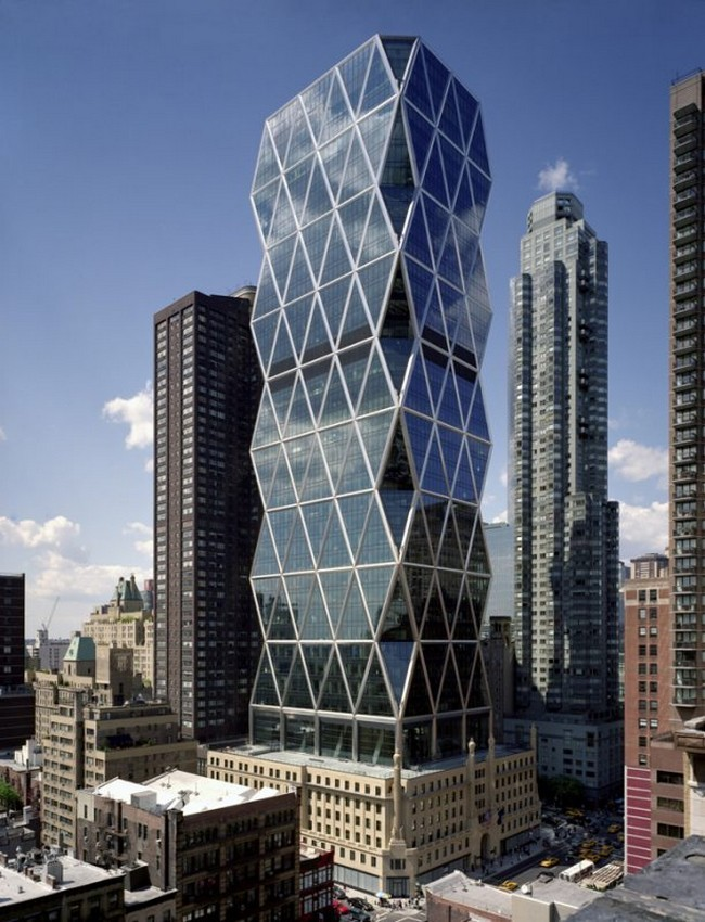 The hearst tower in new york city for Architecture companies in nyc