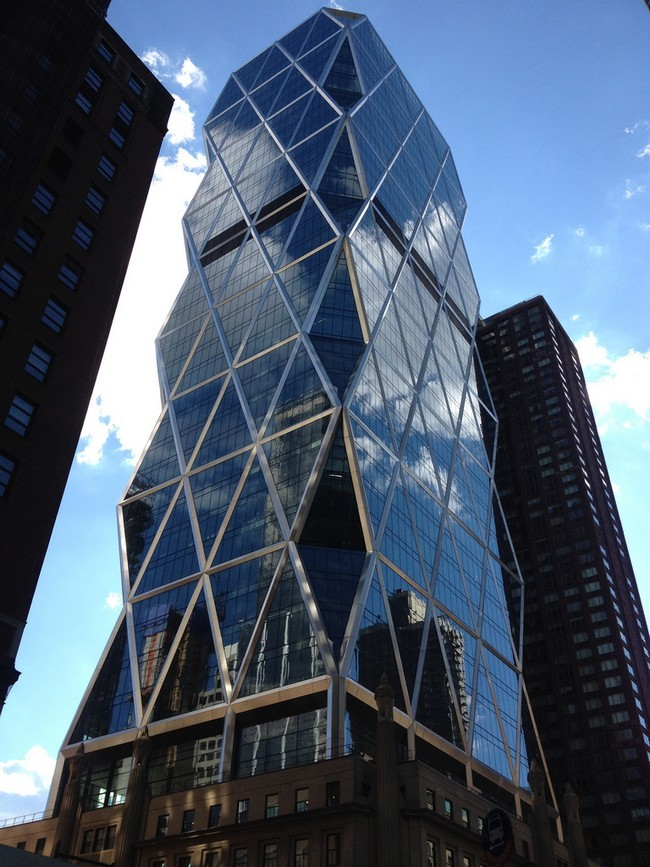 The Hearst Tower In New York City