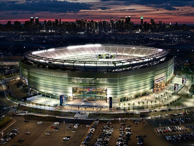 detailed look 5ec32 e01fe The MetLife Stadium, home of the Giants and the Jets