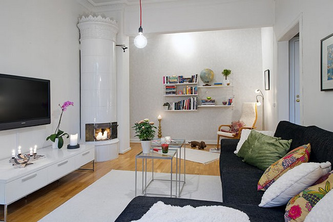 Small swedish apartment in gothenburg