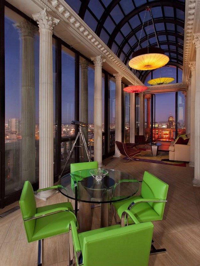 Luxury Showcase For Living Room Royal Art Deco: Amazing Art Deco Penthouse In San Francisco