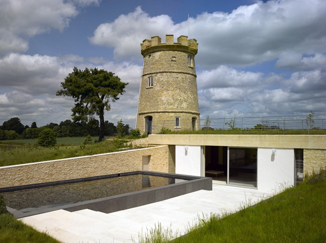 Countryside Castle With A Secret Underground Eco Home