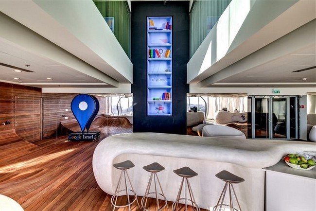 google tel aviv office features. One Of The Floors Was Designed Into Campus Tel Aviv By Israeli Prime Minister And It Is Powered Google To Offer A Start-up For Entrepreneurs Office Features