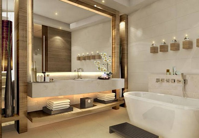 The jw marriott marquis dubai hotel in uae for Bathroom interior design dubai