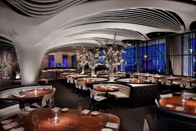The stk midtown restaurant in new york