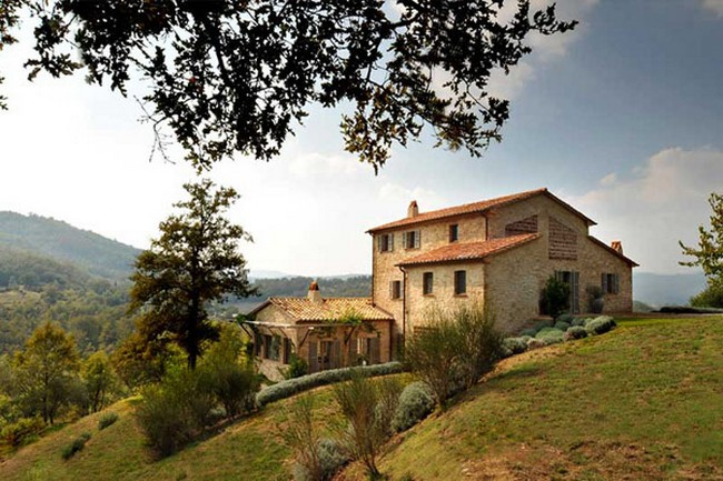 Francois Illas New Tradition: Old Meets New In This Italian Home: Spinaltermine Villa