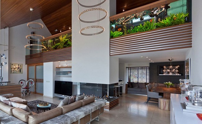 Villa with Aquarium by Centric Design Group 1