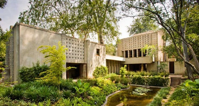 Millard House by Frank Lloyd Wright 11