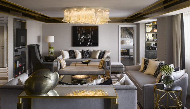 Royal Suite At The Intercontinental London Park Land By