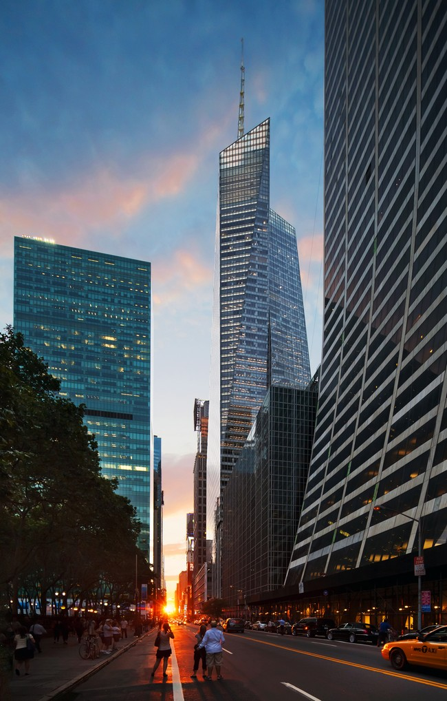 the bank of america tower in new york city. Black Bedroom Furniture Sets. Home Design Ideas