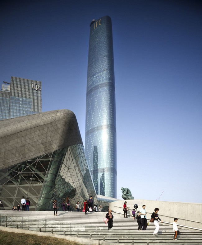 Ifc Guangzhou By Wilkinson Eyre Architects