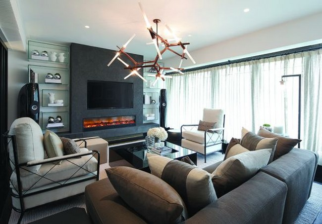 Luxury hong kong interiors by kelly hoppen - Kelly hoppen living room interiors ...