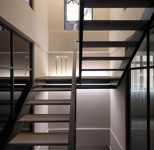 Multi Level Contemporary Apartment In Taiwan By Wch Studio