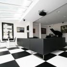 Black and White Office by TOYA Design 07