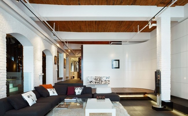 Penthouse at the Candy Factory Lofts by Johnson Chou 02