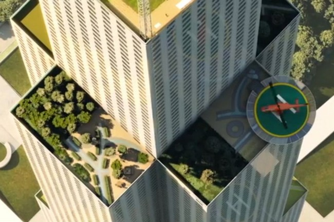 Amazing sustainable 15-story hotel built in 6 days!