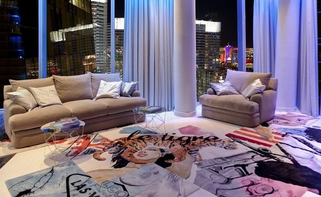 Spectacular Las Vegas Penthouse by Mark Tracy 11
