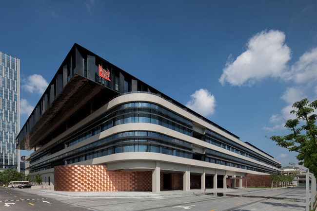 Tjad new office building by tjad for Office design archdaily