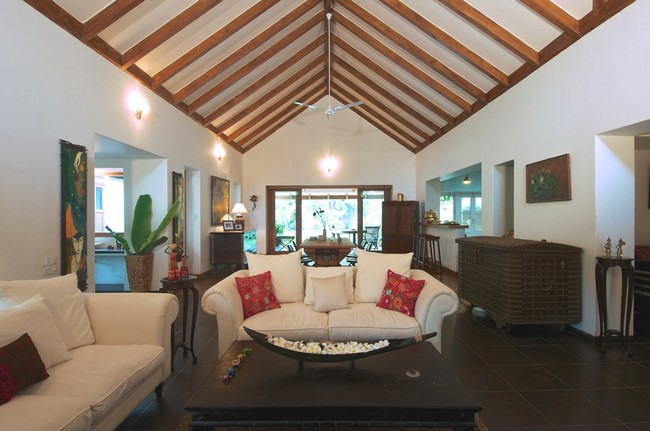 Tropical house by hiren patel architects - Maison courtyard hiren patel architects ...