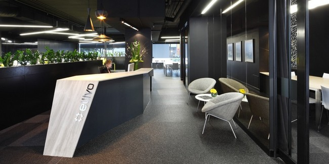 the recently opened office of the award winning practice ellivo architects offers a daring design and is located in the fortitude valley queensland award winning office design