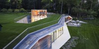 Lake George Pool Pavilion by Peter Cluck & Associates
