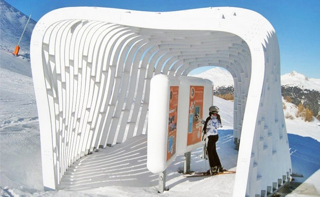 Prefabricated Snow Huts by Herault Arnod Architects 05