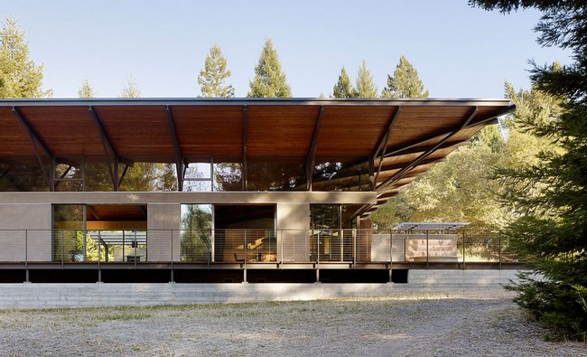 sonoma mountain house by nielsen schuh architects