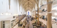 15th-Century Church Renovated as a Modern Bookstore 00001