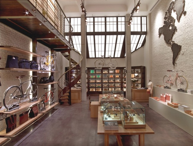Shinola by rockwell group for Interior decorating jobs retail