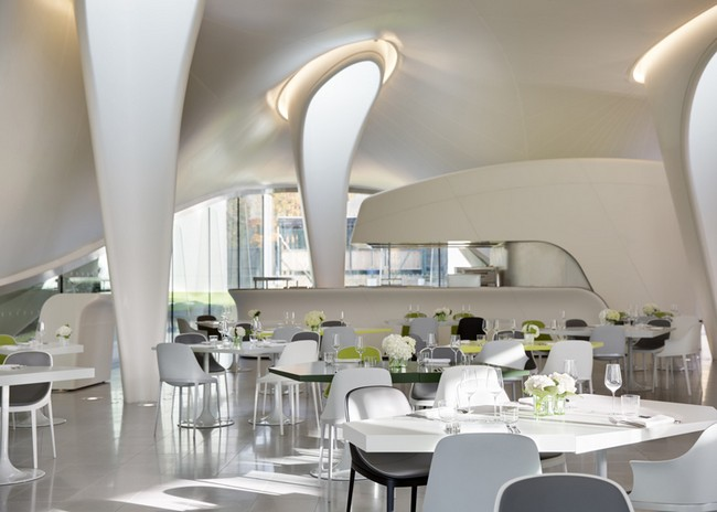 The magazine at serpentine sackler gallery by zaha hadid