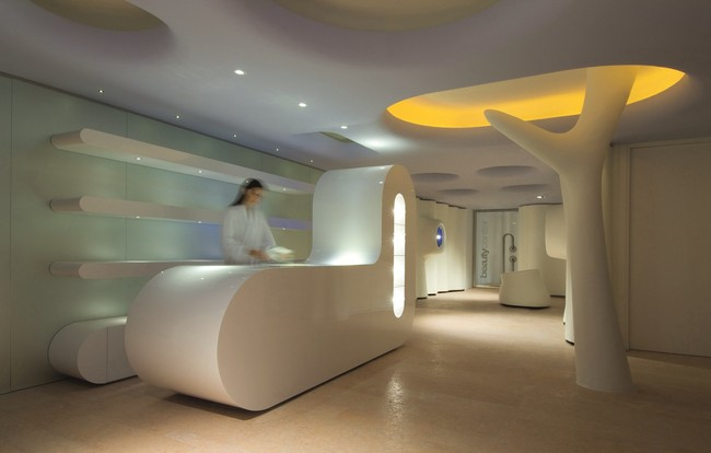 Exedra nice hotel spa by simone micheli for Nice hotel design
