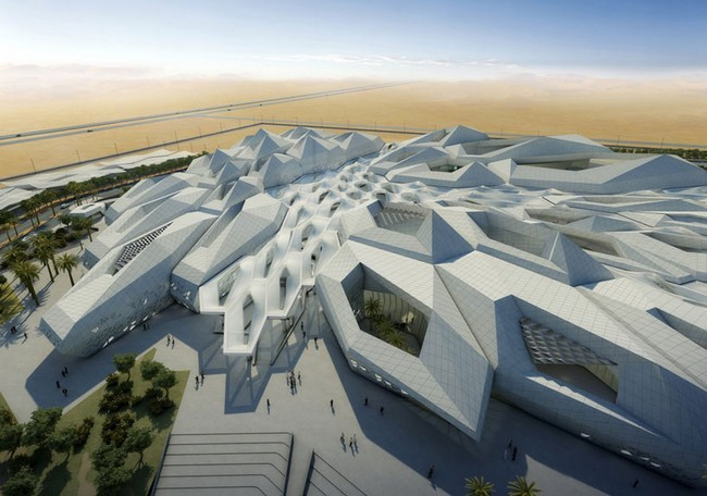King Abdullah Petroleum Studies And Research Center By Zaha Hadid Architects