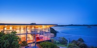 Beautiful Modern Waterfront House From New Zealand 00001