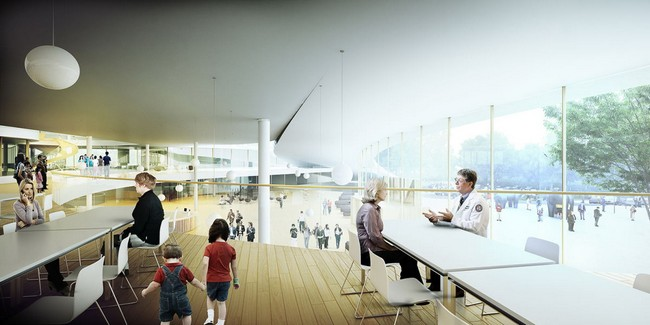 New North Zealand Hospital By C F M 248 Ller Architects