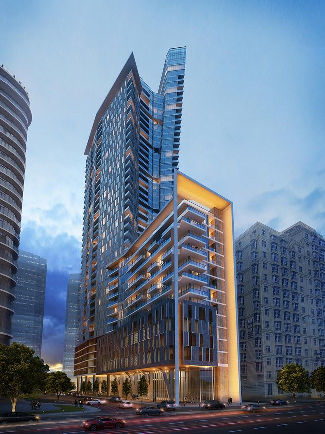 residential apartment tower by dsa architects