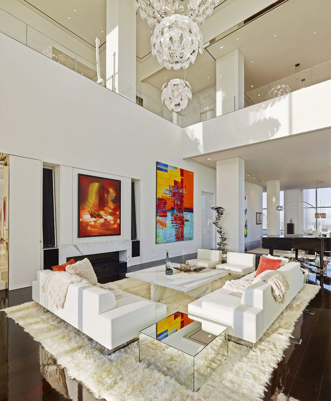 United Nations Dining Room: A Billionaire's Penthouse In New York By ODA Architecture